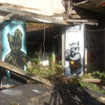 """The Guardians of the Galaxie on Doors 2014""""  Graffiti"""